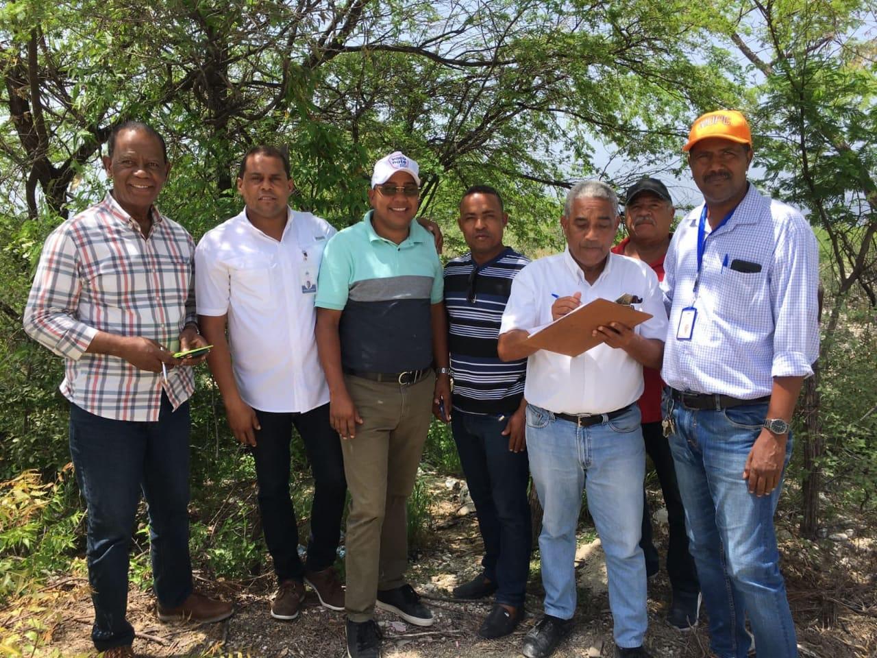 El Alcalde Municipal de Villa Jaragua Iván Arístides Medina Trinidad
